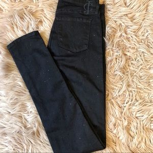 Juicy Couture Black Embellished Stud Sunny Jeans